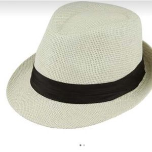 Fashion Girl Panama Jazz Hat NWT